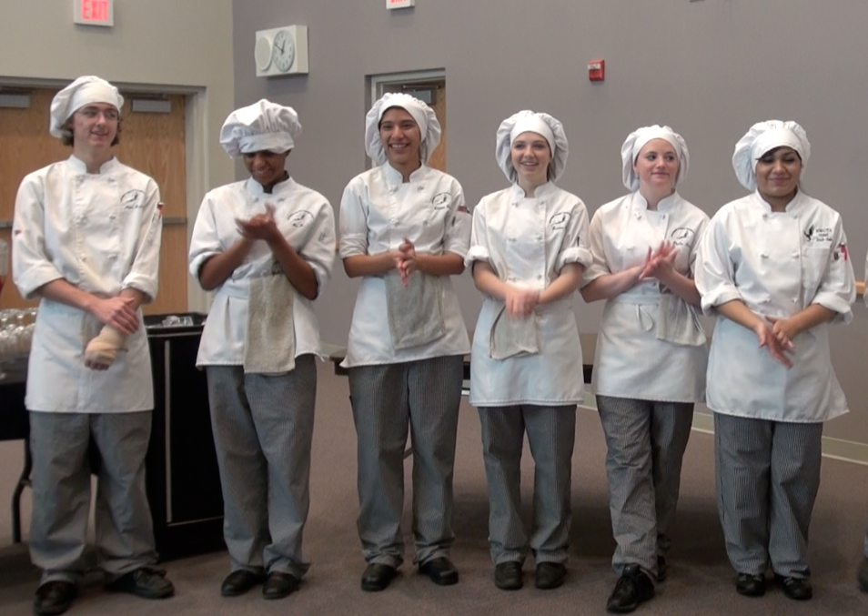 NWCTA culinary students spend five hours a day practicing their trade.  Photo: Monique Gaudin