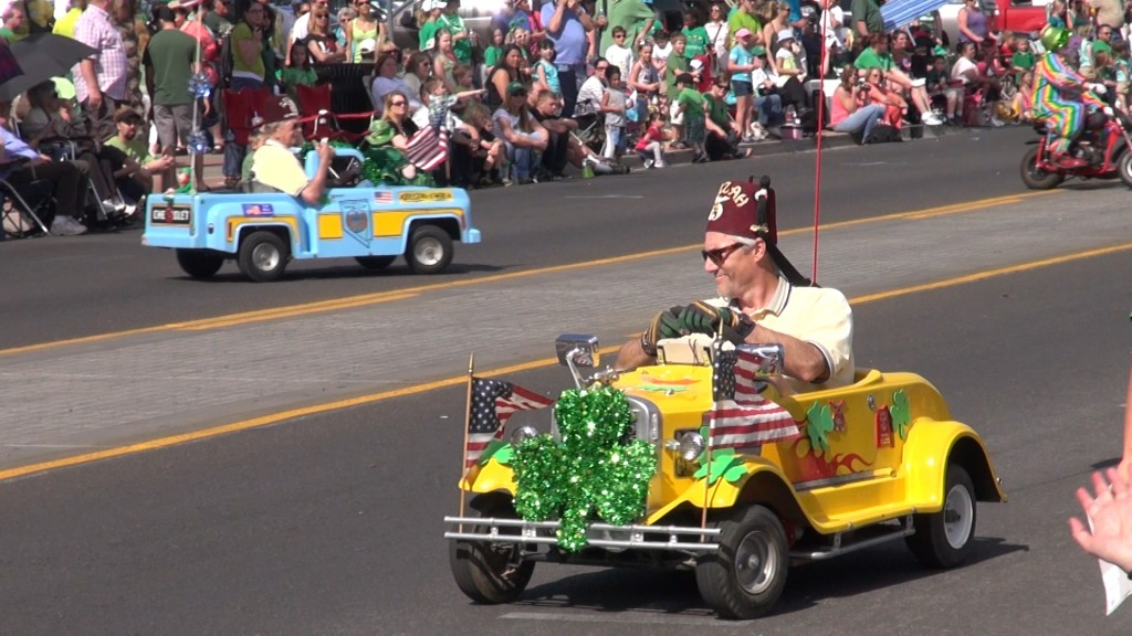 What would a parade be without the Shriners?  Photo: Monique Gaudin